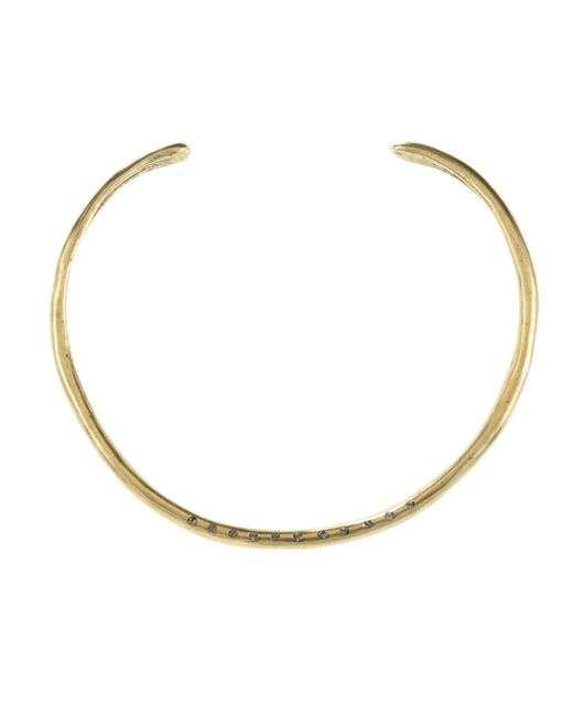 Jill Golden | Metallic Montgomery Crystal Collar | Lyst