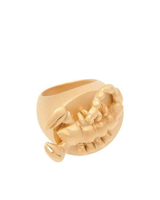 Valentino | Metallic Scorpio Ring | Lyst