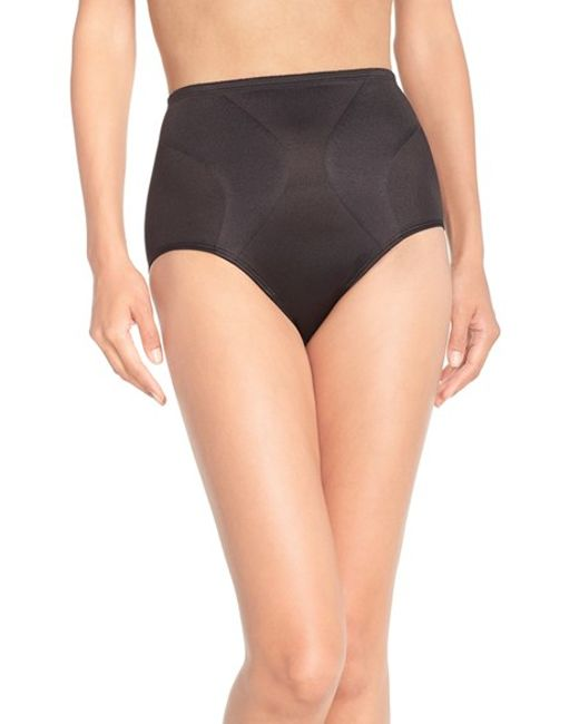 Tc Fine Intimates | Black 'wonderful Edge' Shaping Briefs | Lyst