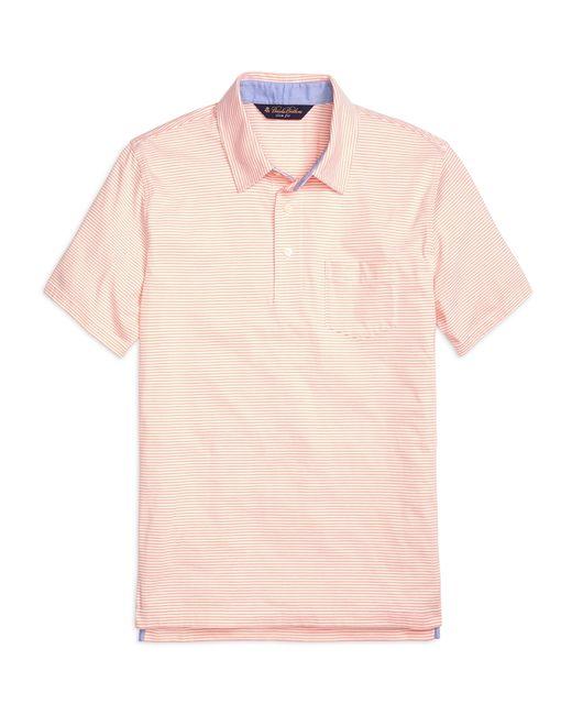 Brooks Brothers | Orange Slim Fit Stripe Polo Shirt for Men | Lyst