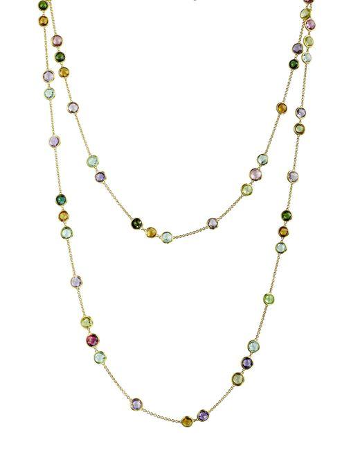 Marco Bicego | Metallic Jaipur Mixed-stone Layering Necklace | Lyst