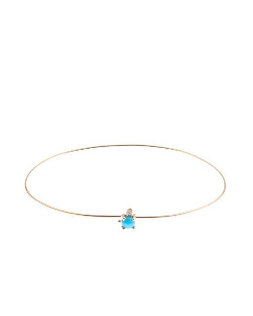 Loren Stewart | Metallic Diamond, Turquoise & Yellow-gold Bracelet | Lyst