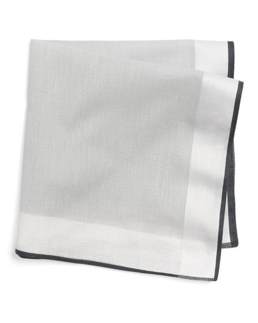 Brooks Brothers | Natural Cotton Handkerchiefs - 3Pk for Men | Lyst