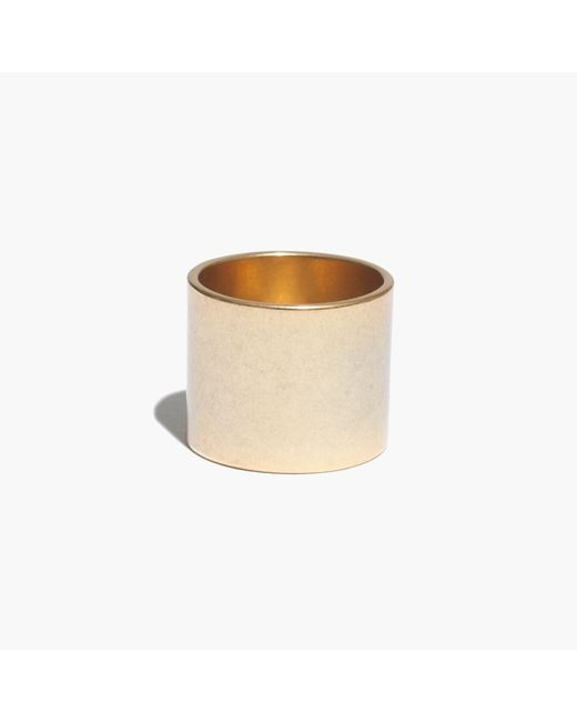 Madewell | Metallic Band Ring | Lyst