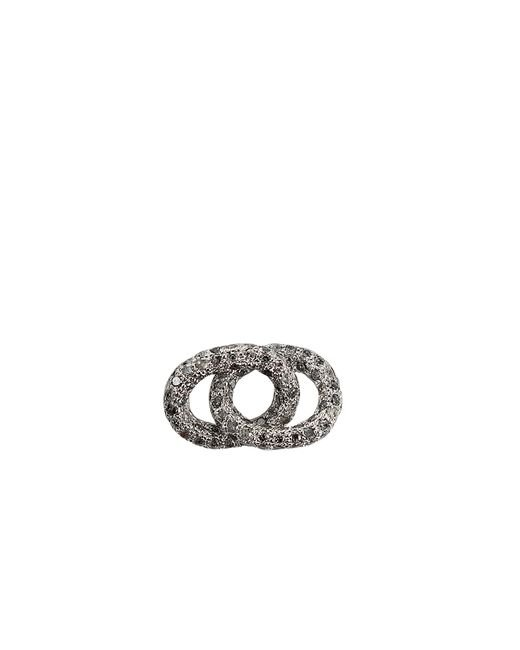 Carolina Bucci | Metallic Grey Diamond Double Links | Lyst