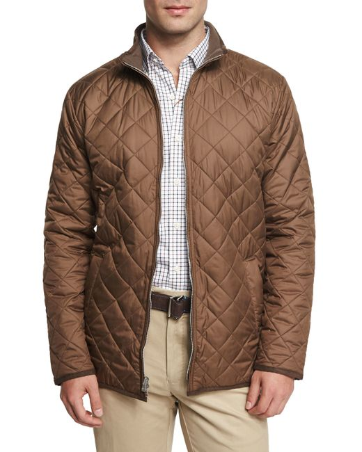 Peter Millar Chesapeake Lightweight Quilted Jacket In