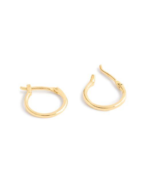 J.Crew | Metallic 14k Gold Medium Hoop Earrings | Lyst