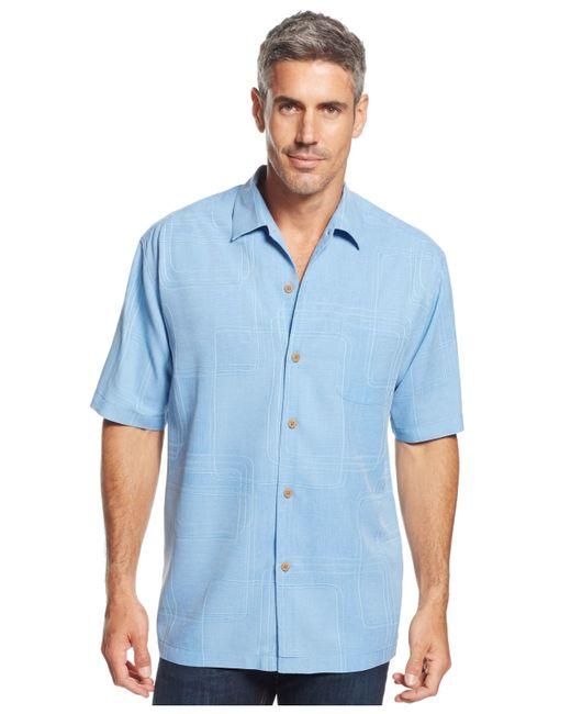 Tommy Bahama | Orange Men's Island Geo Shirt for Men | Lyst