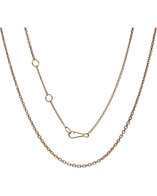 Annoushka | Metallic 18ct White-gold Classic Mini Belcher Chain | Lyst