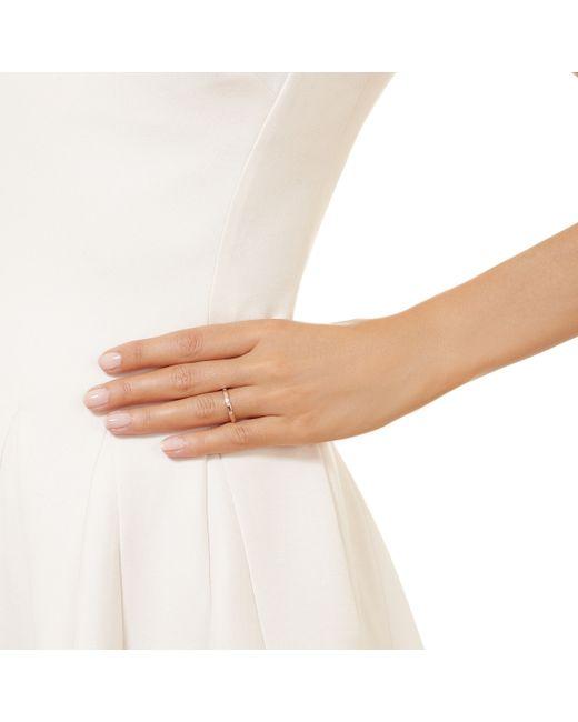 Monica Vinader | Pink Skinny Crown Ring | Lyst