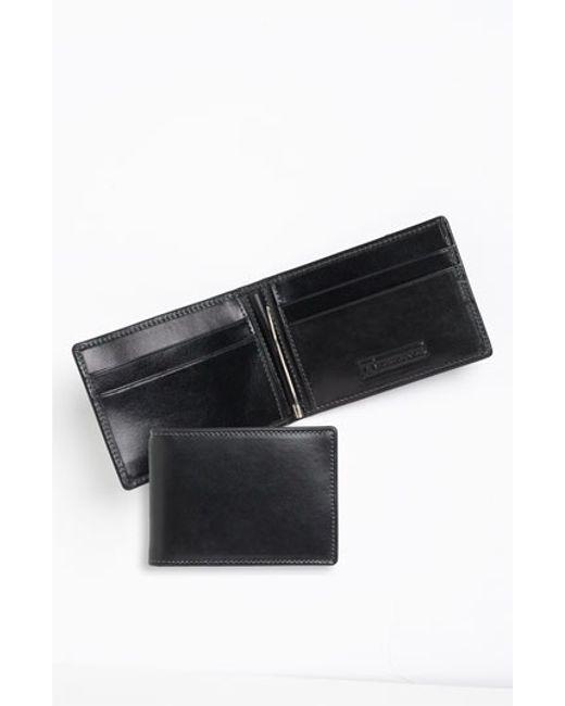 Trafalgar | Black 'cortina' Money Clip Wallet for Men | Lyst