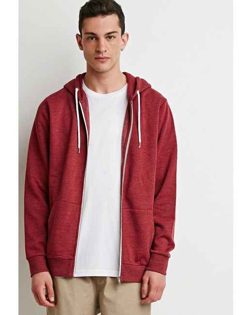 Forever 21 | Purple Zip-up Hoodie for Men | Lyst