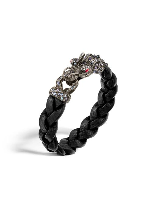 John Hardy | Metallic Naga Bracelet With Color Change Garnet for Men | Lyst