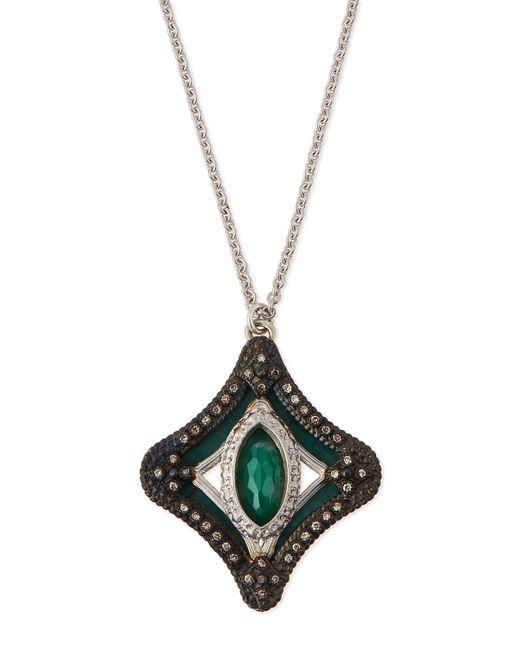 Armenta   Metallic New World Mosaic Pendant Necklace   Lyst