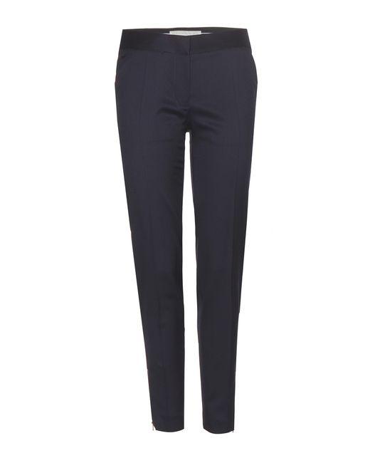 Stella McCartney | Black Wool Trousers | Lyst