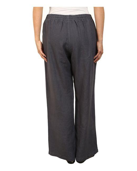 Allen Allen | Black Plus Size Beach Pants | Lyst