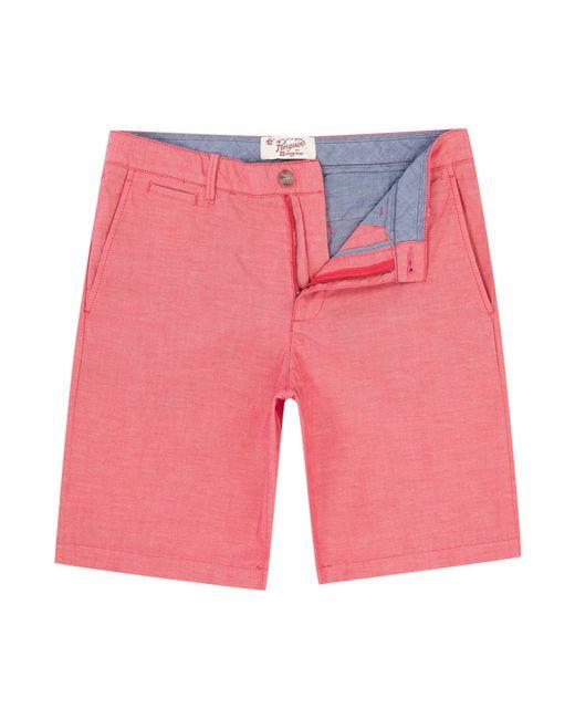 Original Penguin | Pink Oxford Shorts for Men | Lyst