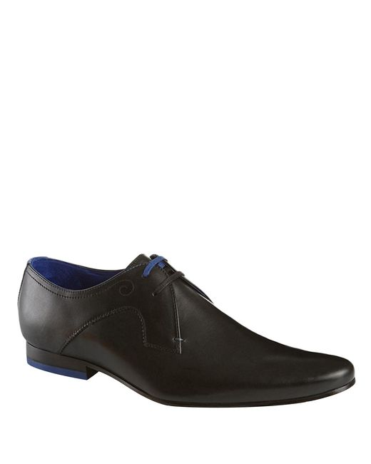 Ted Baker | Black Martt Leather Derby Oxfords for Men | Lyst