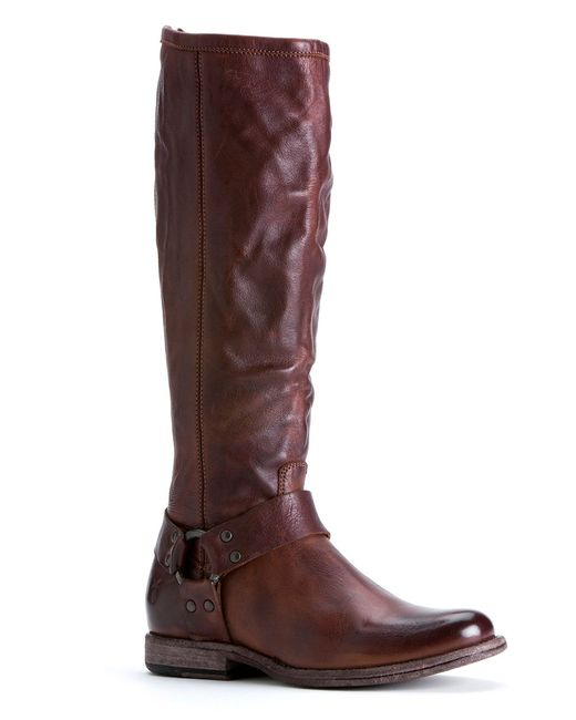 Frye | Brown Phillip Harness Riding Boots | Lyst