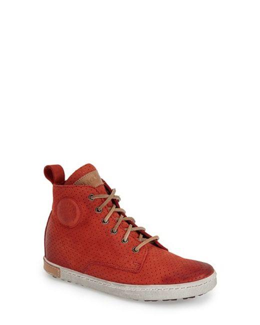 Blackstone | Red 'fl62' Hidden Wedge Sneaker | Lyst