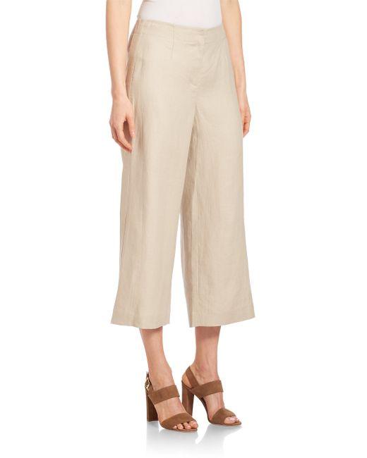 Original  New York Womens WideLeg Linen Pants Khaki  All Handbag Fashion
