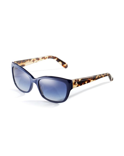Kate Spade | Brown 55mm Johanna Cat Eye Sunglasses | Lyst