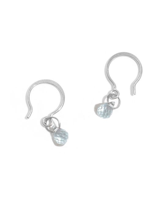 Melissa Joy Manning | Metallic Blue Topaz Mini Drop Earrings | Lyst