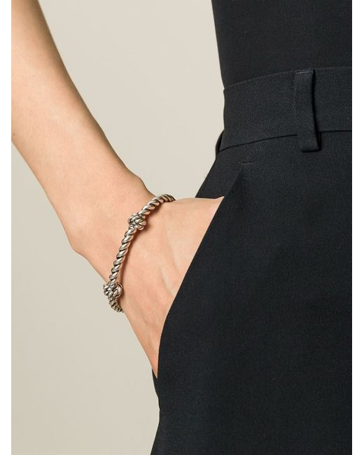 Aurelie Bidermann | Metallic 'palazzo' Bracelet | Lyst