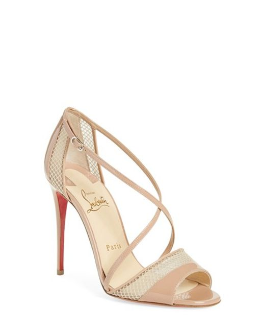 cheap knock off red bottom shoes - christian louboutin crossover sandals, christian louboutin flats ...