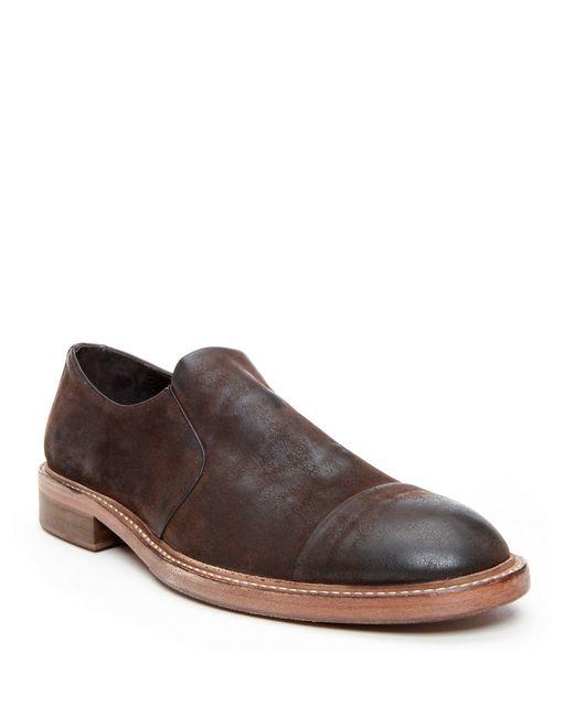Donald J Pliner | Brown Zarro Leather Slip-on Loafers for Men | Lyst