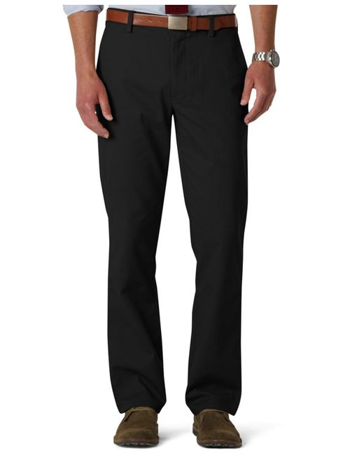 Dockers | Black D1 Slim-fit Flat-front Easy Khaki Pants for Men | Lyst