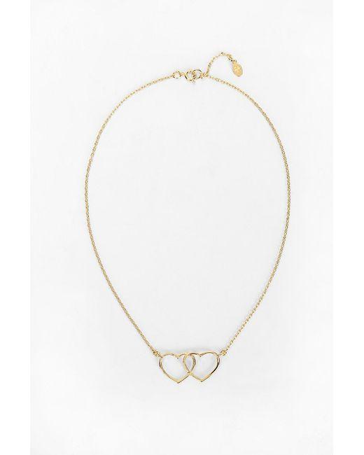 Bing Bang | Metallic Loved Up Necklace | Lyst
