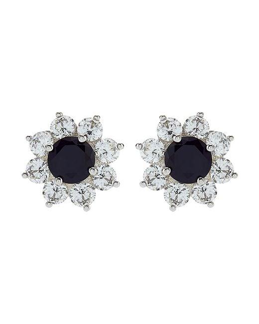 Carat* | Blue Fancy Round Stud Earrings | Lyst