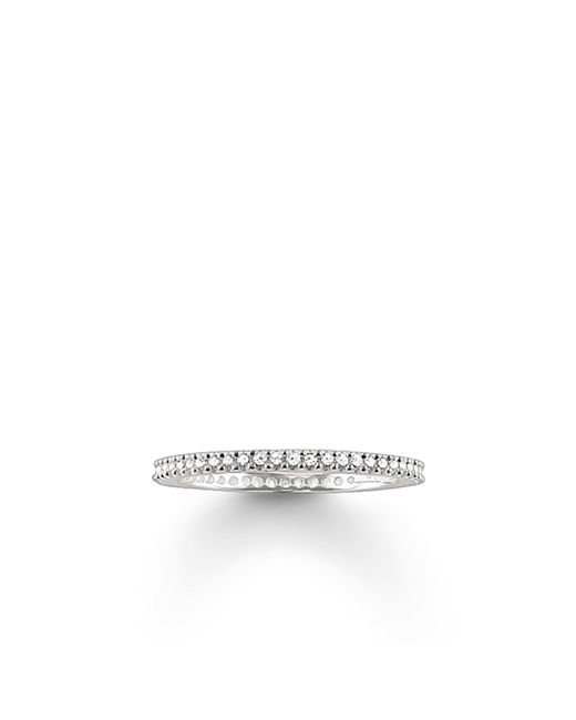 Thomas Sabo | Metallic My Rings Small Pave Set Ring | Lyst
