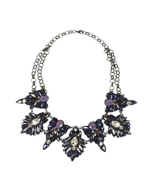 Deepa Gurnani | Purple Necklace | Lyst