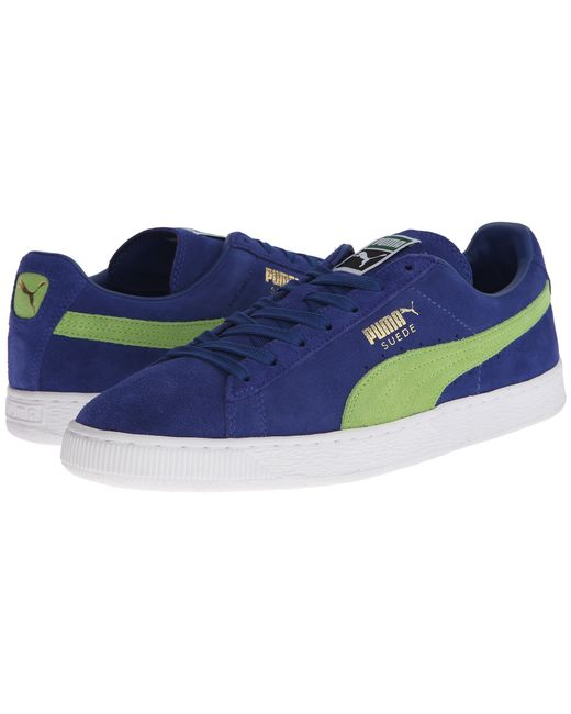 PUMA | Green Suede Classic+ for Men | Lyst
