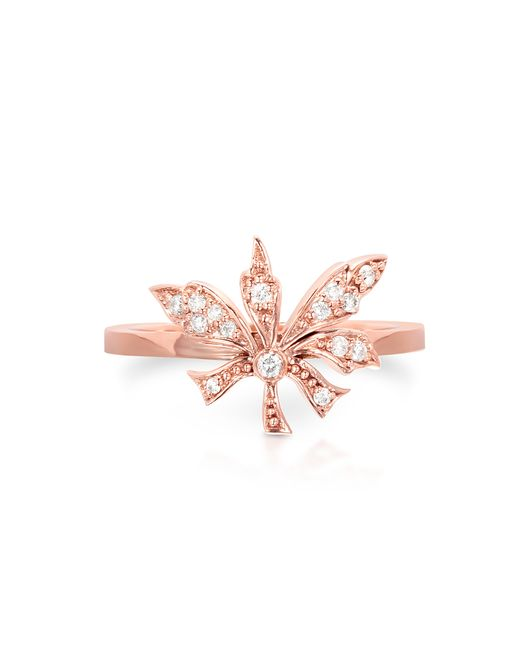 Carbon & Hyde | Pink Poison Ivy Mini Ring | Lyst