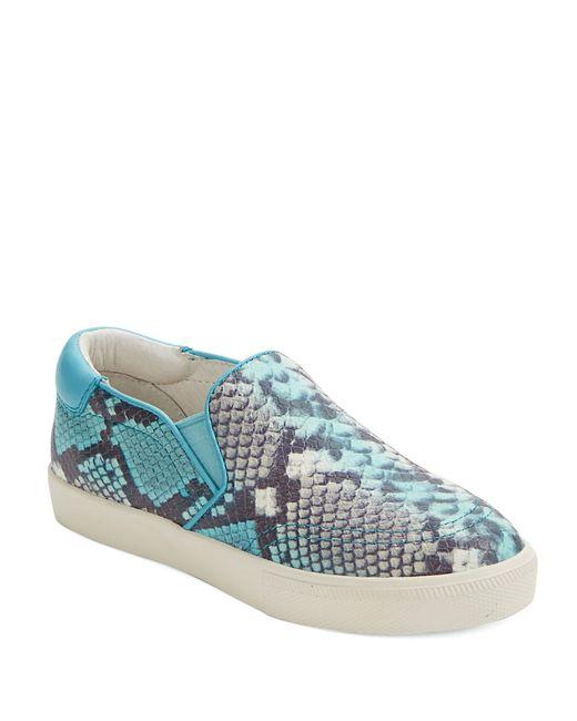 Ash | Blue Impuls Snakeskin Sneakers | Lyst