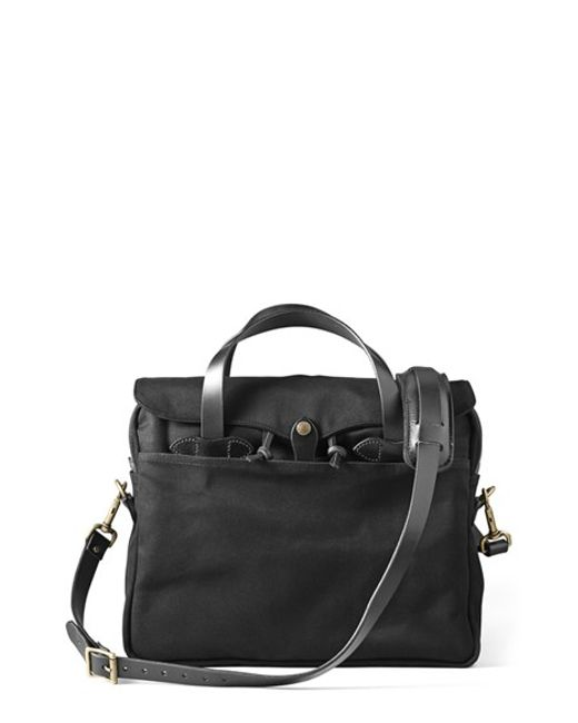 Filson | Black 'original' Briefcase for Men | Lyst