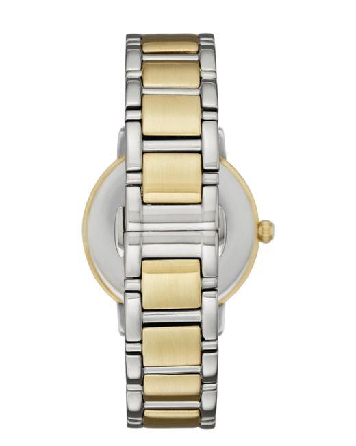 Kate Spade | Metallic Two-tone Scallop Gramercy Watch | Lyst