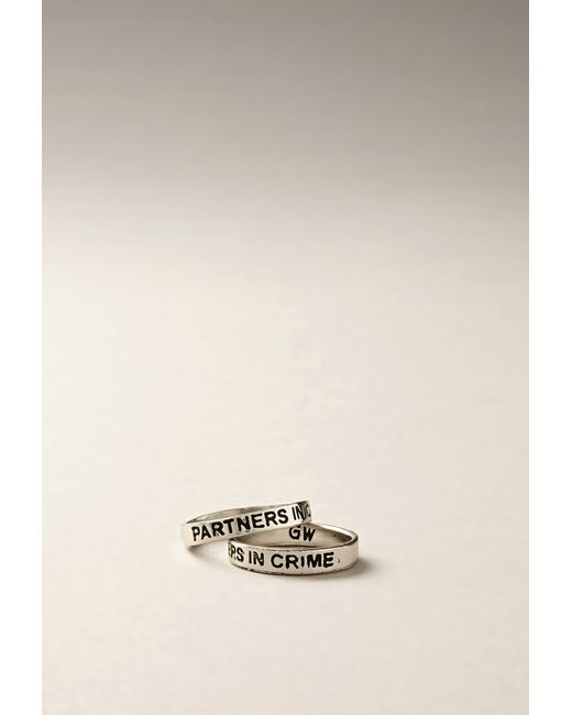 Forever 21 | Metallic Gypsy Warrior Partners In Crime Ring Set | Lyst