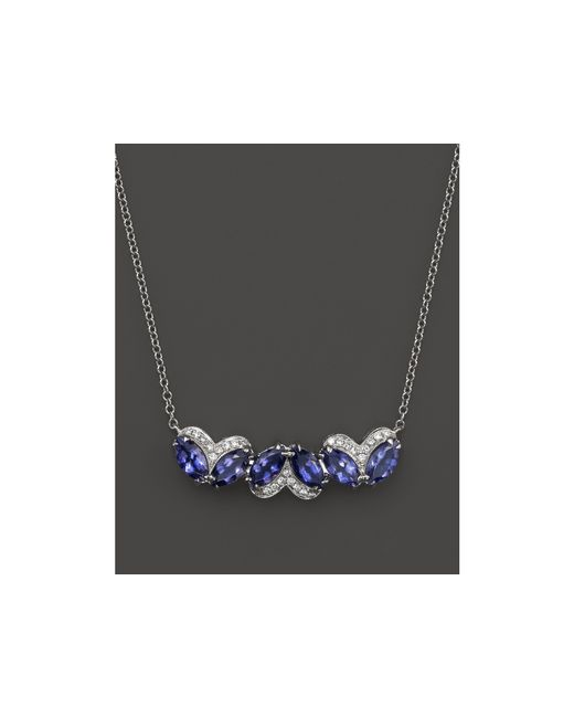 Dana Rebecca | Blue Lindsay Allison Necklace, 16"