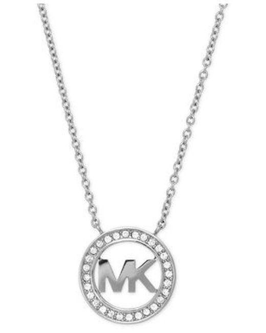 Michael Kors | Metallic Mkj4733040 Ladies Necklace | Lyst