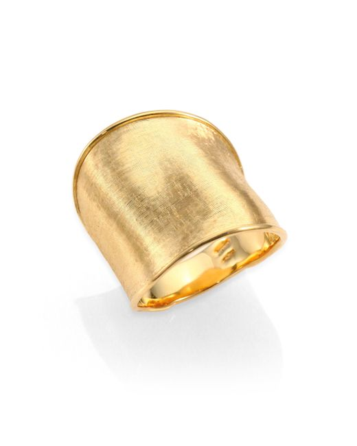 Marco Bicego | Metallic Lunaria 18k Yellow Gold Large Band Ring | Lyst