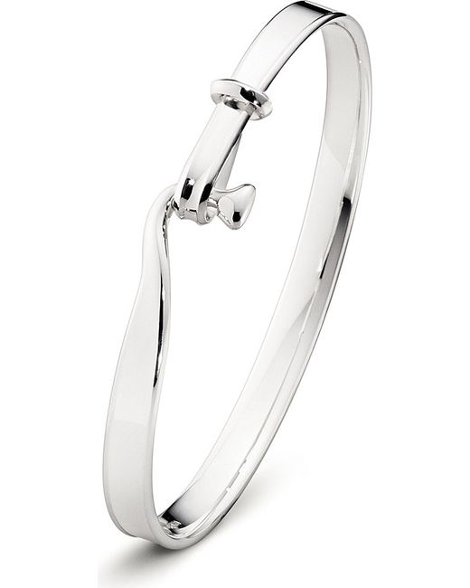 Georg Jensen | Metallic Torun Sterling Silver Bangle | Lyst