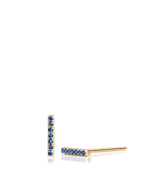 EF Collection | Yellow Blue Sapphire Bar | Lyst