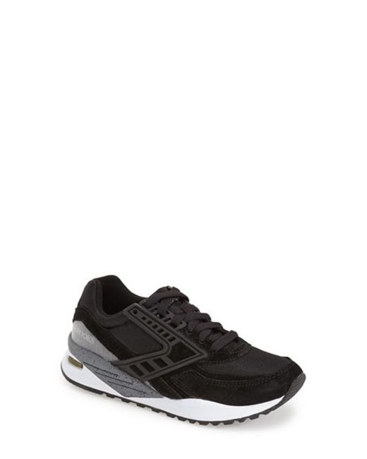 Brooks | Black 'evenfall Regent' Sneaker | Lyst