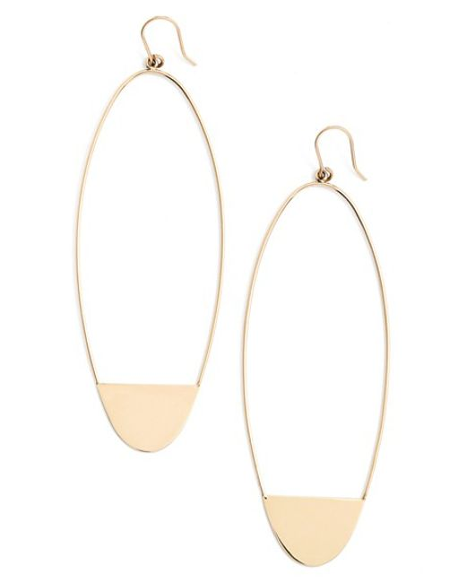 Lana Jewelry | Metallic 'riviera - Eclipse' Drop Earrings | Lyst