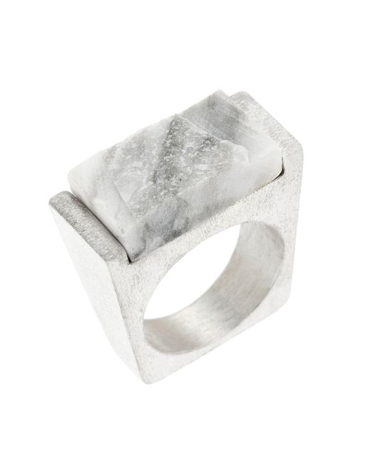 Pasionae | Metallic Frost Ring | Lyst