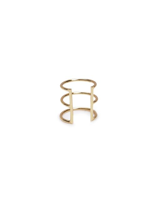 Bing Bang   Yellow Delicate Caged Ear Cuff   Lyst